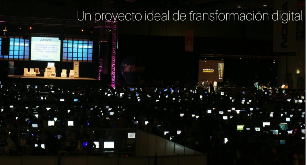 Un proyecto ideal de transformación digital B